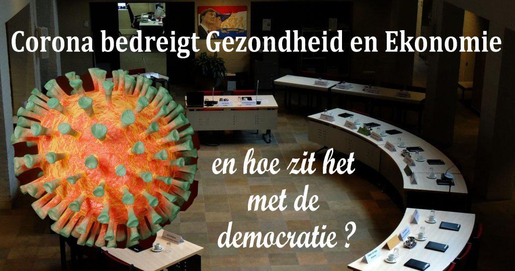 Corona bedreigt gezondheid en ekonomie. Hoe zit het met de democratie?