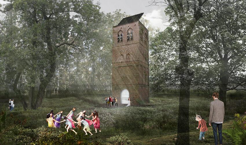 Een oude Middeleeuwse toren als monument is niet genoeg, daar moet 'beleving' bij